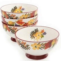 """New! The Pioneer Woman 6"""" Timeless Floral Bowls- Set Of 4 Bowls - £58.95 GBP"""