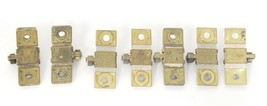 LOT OF 7 SQUARE D HEATER ELEMENTS B3.00, B2.40, B10.2, B12.8, B7.70