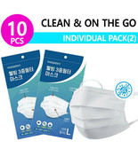 Well-Being 3 Layered Filter Masks 10 PCS ( 5ea x 2 pack) - $16.82
