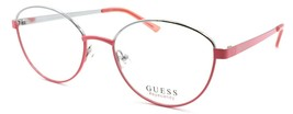 GUESS GU3043 072 Eye Candy Women's Eyeglasses Frames 51-17-140 Shiny Pink - $64.25