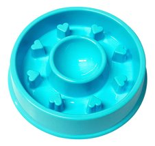 Alpha Dog Series Fun Feeder Slow Feeder Interactive Bloat Stop Dog Bowl ... - $8.99