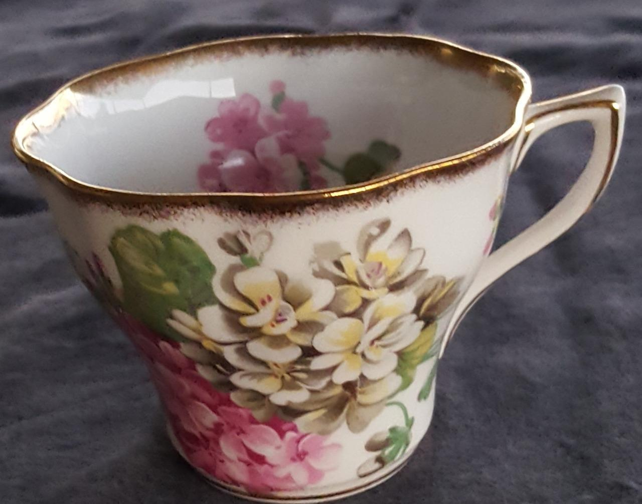 Primary image for Beautiful Vintage Tea Cup Bone China Rosina Pattern 5087 - VGC - PRETTY DESIGN