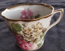 Beautiful Vintage Tea Cup Bone China Rosina Pattern 5087 - VGC - PRETTY ... - $24.74