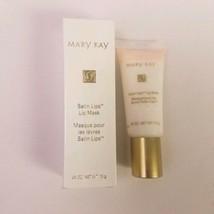 Mary Kay Satin Lips Lip Mask Discontinued Size 0.45 oz Tube - $9.89