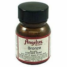 Angelus Acrylic Leather Paint-1oz.-Bronze - $6.76
