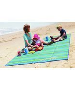 Large Waterproof Blanket Camping Beach Outdoor Garden Picnic Mat Sand Proof - £15.42 GBP