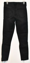 Abercrombie & Fitch Women's Black Distressed Simone High Rise Ankle Jeans 27 4L image 2
