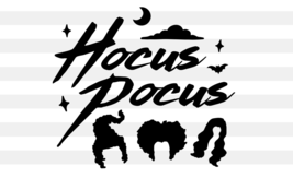 Hocus Pocus SVG, Halloween SVG, Sanderson Sisters Svg, Digital Download - $1.99