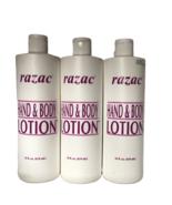 ORIGINALRAZAC HAND & BODY LOTION 474ml by Razac (Set of 3 ) - $23.99