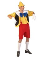Deluxe PINOCCHIO Costume + nose  -Superb quality  - $62.58