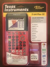 Texas Instruments TI-84 Plus CE Graphing Calculator - Hot Pink - Free Sh... - $100.98