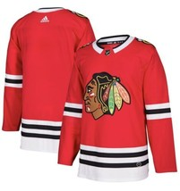 Adidas Chicago Blackhawks Home Authentic Blank Stitched Jersey Size 50 $180 - $89.09