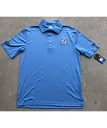 Colosseum North Carolina Tar Heels Team Logo Polo Blue Small New! NWT! - $20.08