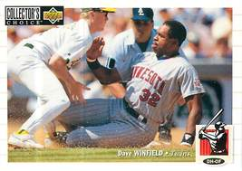 Dave Winfield, Twins, Upper Deck Collector's Choice 1994, #302 - $1.25