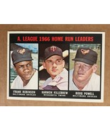 1967 Topps #243 Home Run Leaders Baseball Card NM Condition KILLEBREW RO... - $7.99