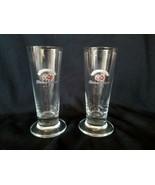 Hacker Pschorr 0.1L Pilsner Beer Sampling Shot Glass Pair Set of 2 - $15.15