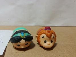 Disney TSUM TSUM PVC Palace Of Agrabah Aladdin--Jasmine & Abu the Monkey  - $8.00