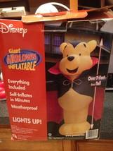 Disney Winnie the Pooh Vampire Dracula Halloween Giant Airblown Inflatab... - £111.54 GBP