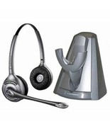 Plantronics 75049-01 SupraPlus Wireless Stand Alone Charger and CS361N B... - $121.54