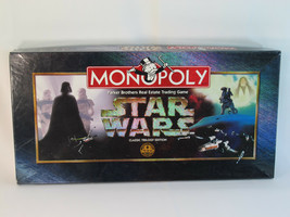 Monopoly Star Wars 1997 Classic Trilogy Edition Parker Brothers 100% Complete ^^ - $36.45