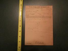 Weil Wheaton Rubber Co Minneapolis Minnesota 1920 Letterhead 320 - $10.99