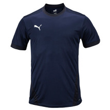 Puma Team Goal 23 Training Top Men's Shorts Shirts Football Jersey Navy ... - $24.99