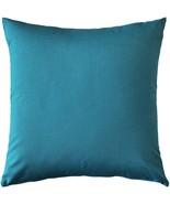 Pillow Decor - Sunbrella Peacock Outdoor Pillow 20x20 - $39.95