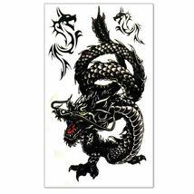 Men / Women Fashion Temporary Tattoo Dragon Pattern Body Art Waterproof Sticker image 4