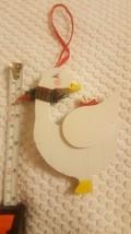 """Holly Adler 1987 Kurt S. Adler Christmas tree Swan Duck Christmas Ornament 4"""" - $9.41"""