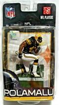Pittsburgh Steelers Troy Polamalu Action Figure Elite Series 2 By Todd Mcfarlane - $30.00