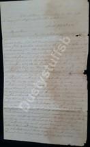 1833 Letter by Sarah Robert of Philadelphia, Written from London,She Hat... - $163.63