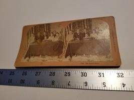Home Treasure The Queer Choir Stereoview Card 1893 Kilburn #7748 Piano D... - $23.74