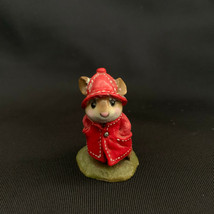 """Wee Forest Folk """"April Showers"""" Red Coat Retired 1991 - $88.11"""