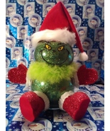 Handmade Glass Christmas Grinch - $38.26