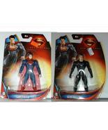 Mattel DC Superman Man Of Steel Superman & General Zod Figures - $11.95