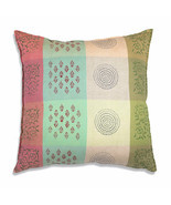 Farmhouse NADIA COTTON EURO THROW PILLOW Country Southwestern Style Sofa... - $43.99