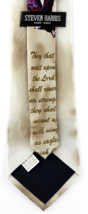 Wings As Eagles Mens Necktie Religious Scripture Isaiah 40:31 Christian Neck Tie image 3