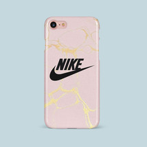 Gold Marble Nike iPhone Case for iPhone 5/6/7/8/X And Samsung S6/S7/S8/S9 - $7.99+