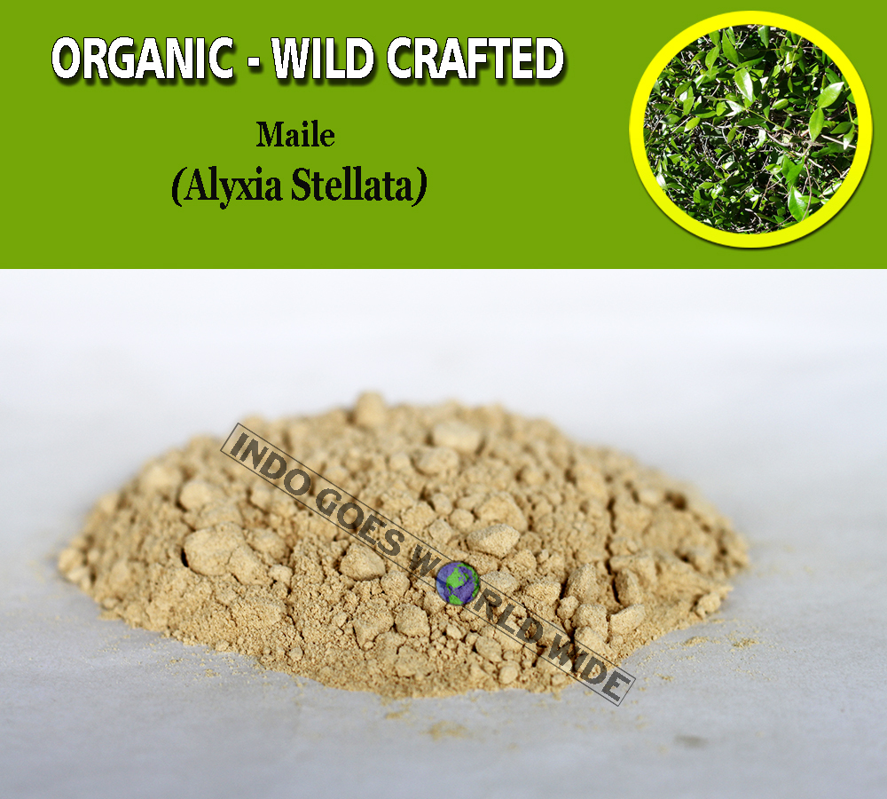 Primary image for POWDER Maile Pulosari Alyxia Stellata Organic Wild Crafted Fresh Natural Herbs