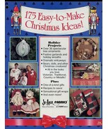 175 Easy To Make Christmas Ideas Booklet Ornaments Garlands Wreaths Doll... - $1.77