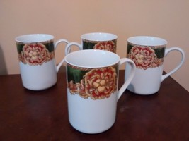 American Atelier Noel mugs-Set of 4 Mugs - $17.99