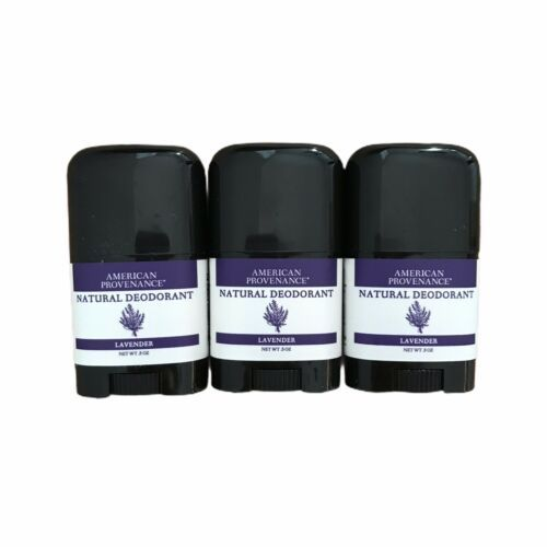 Primary image for AMERICAN PROVENANCE  Deodorant Lavender Natural Ingredients Only TRAVEL SIZE