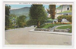 Pigeon Street  Waynesville North Carolina 1920s postcard - $6.44