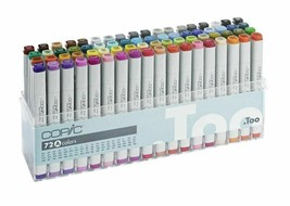 Copic C72A Classic Markers Set - 72 Piece image 1