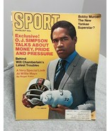 Sport Magazine August1969 OJ Simpson Chamberlain Bobby Murcer Willie Mays - $7.69