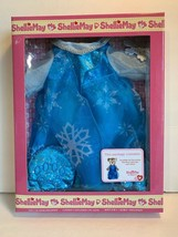 """Disney Parks Frozen Queen Elsa Costume Outfit 17"""" ShellieMay Plush New i... - $27.43"""