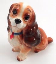 Ceramic Walt Disney Japan Lady & the Tramp Cocker Spaniel Girl Lady Figurine - $13.32