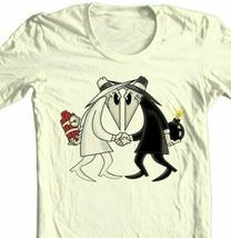 Spy vs Spy T-shirt MAD retro 1980s tv comics 100% cotton graphic tee image 1