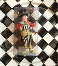 NEW  Mackenzie Childs Mad Hatter Ornament - Alice in wonderland - Discon... - $108.90