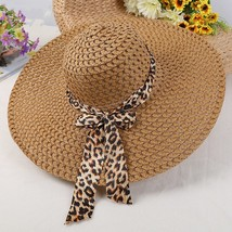2019  Fashion Sun Hats for Women Girls Wide Brim Floppy Straw Hat Summer... - $9.48